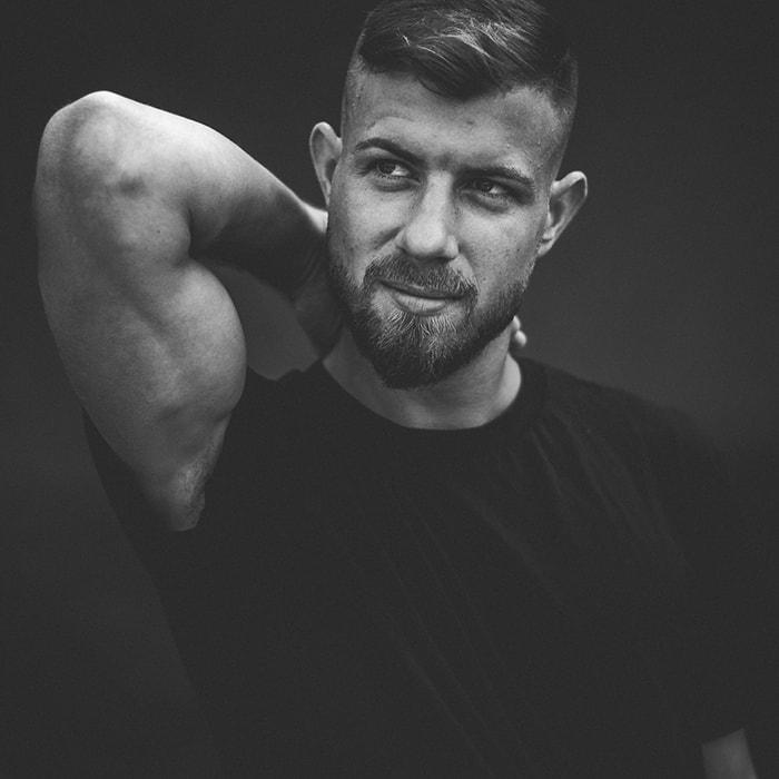 Daniel Male Model Shooting