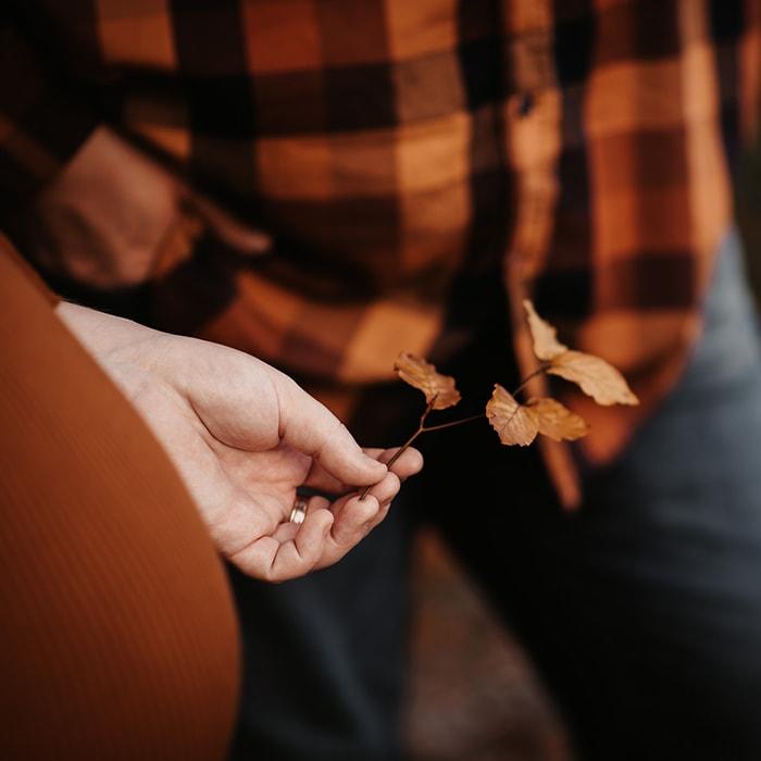 Herbstshooting Paar