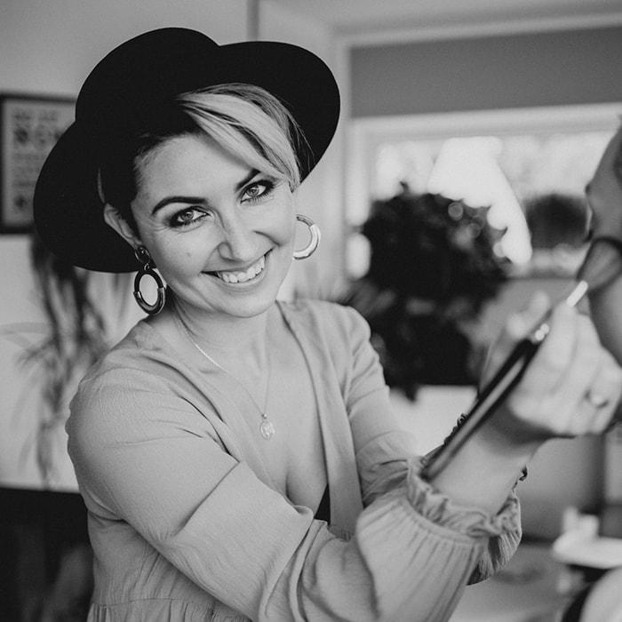 Make-up und Fotoshooting